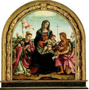 Pala dell'Udienza di Filippino Lippi