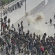 Atene, scontri al Parlamento