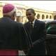 Obama arriva in Vaticano