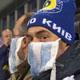 Kiev: tifo con la mascherina