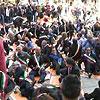 Flash mob dei sindaci: ''Siamo al tappeto''