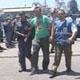 L'arresto degli attivisti