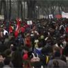Roma, gli studenti sfilano sulla tangenziale