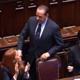 Di Pietro attacca, Berlusconi lascia l'aula