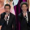 Sanremo: Luca e Paolo cantano Fini e Berlusconi