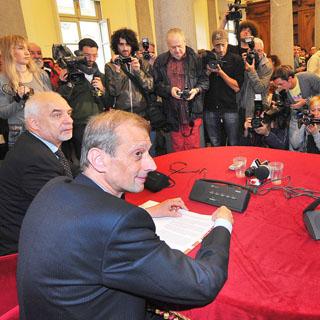Piero Fassino presenta la nuova giunta