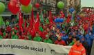 Crisi, sindacati in marcia su Bruxelles
