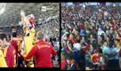 Kiev-Madrid, in piazza e allo stadio: la gioia a confronto
