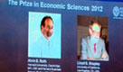 Nobel per l'economia agli americani Roth e Shapley