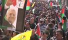 Migliaia di palestinesi sostengono Abu Mazen all'Onu