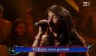 'Ti lascio una canzone' , la figlia del boss in tv