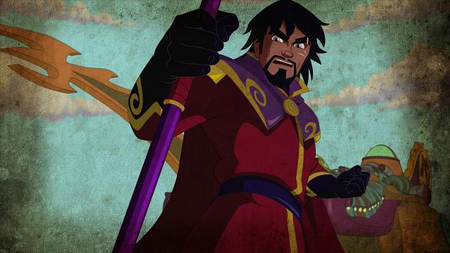 Jules verne in versione cartoon video tvzap