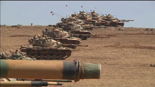 Is La Turchia Si Protegge Schierati I Carri Armati