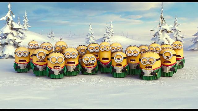 Immagini Minions Natale.I Minions In Sala Ad Agosto Ma Pronti Per Le Feste Di Natale
