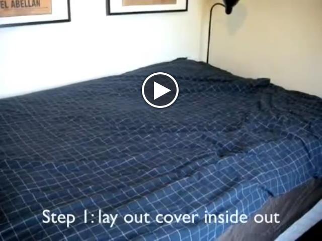 Usa come mettere il copripiumino senza impazzire - Impazzire a letto ...