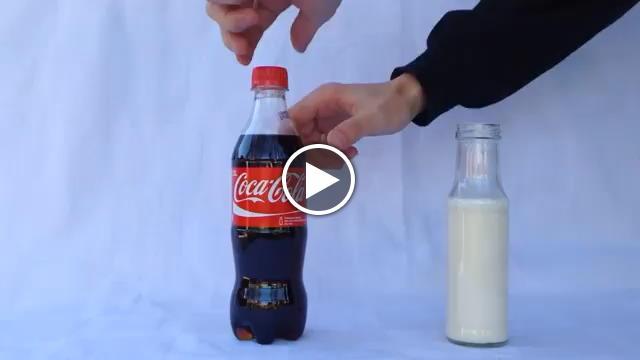 Latte E Coca Cola Il Mix è Sorprendente Video Dit Repubblica