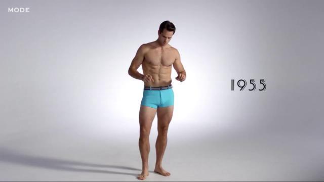 100 anni in tre minuti: l\'evoluzione del costume da bagno maschile ...