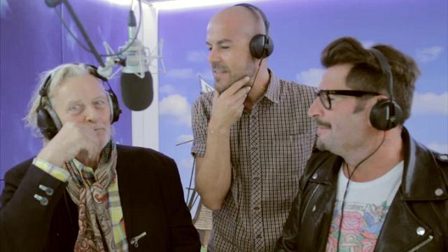 2a871f4af1 Rutger Hauer e Vittorio Gucci a Tropical Pizza | Radio Deejay