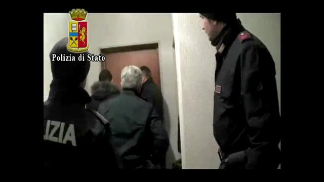 Brindisi, il momento dell'arresto del sindaco Consales