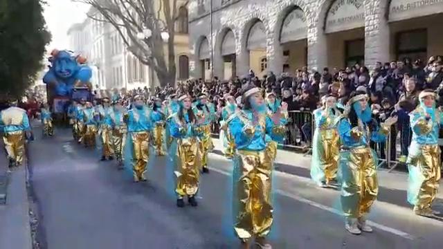 Carrasciali, 4000 figuranti e 15mila spettatori a Tempio
