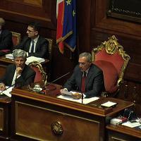 Unioni civili, Grasso dice no al voto segreto. Calderoli: ''Spero non sia effetto Sanremo''
