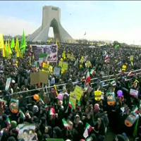 Iran: folla oceanica a Teheran per l'anniversario della rivoluzione