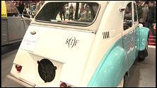 Citroën Mehari al salone delle classiche