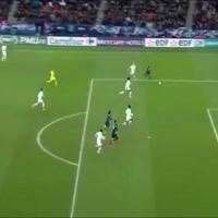 Ibrahimovic segna anche di petto, gran colpo contro il Lione