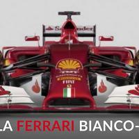 La nuova monoposto della Ferrari sfoggia il bianco in stile Lauda