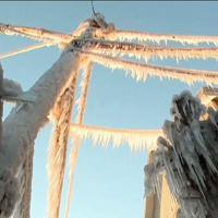 Gelo in Pennsylvania: il paesino diventa di ghiaccio