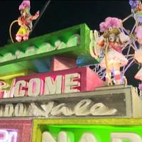 Brasile: la parata conclusiva del Carnevale di Rio