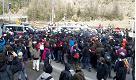 Migranti: protesta dei centri sociali al Brennero, scontri con la polizia