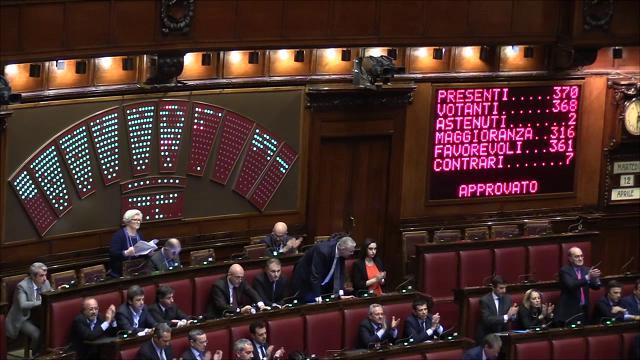 Riforma costituzionale via libera della camera addio al for Votazioni alla camera