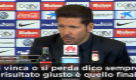 """Simeone: """"Risultato ingiusto? Conta vincere"""""""