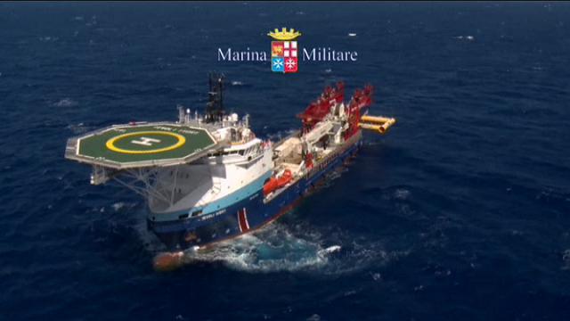 Stretto di Sicilia: al via le operazioni di recupero del barcone affondato nel 2015