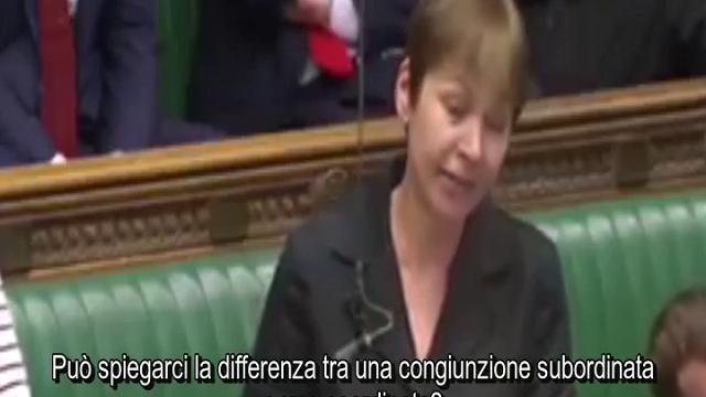 Gb: parlamentare fa test di grammatica a Cameron, lui ci scherza su