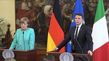 Brennero, Renzi: Da Austria posizione contro storia, Merkel: No chiusura confine
