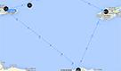 L'area del Mediterraneo dove è caduto l'aereo EgyptAir MS 804