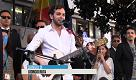 Palermo, 23 maggio: Fragola sul palco ricorda Falcone