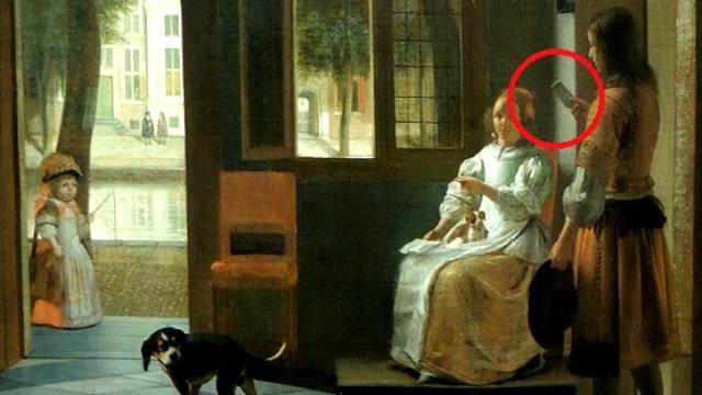 Un iPhone nel quadro del 1670: la 'scoperta' di Tim Cook