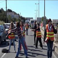 Scioperi in Francia: la protesta diventa un balletto
