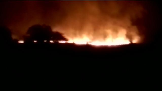 India: incendio al deposito di munizioni