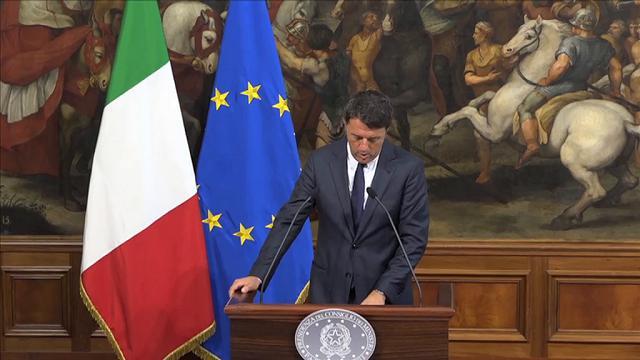 """Brexit, Renzi: """"La sicurezza dei risparmiatori sarà garantita"""""""