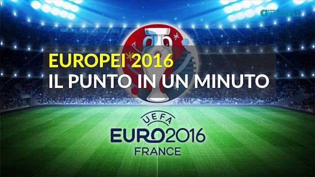 Europei 2016, il punto in un minuto