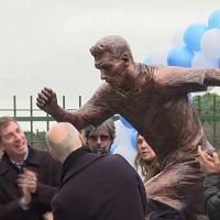 Ironia della sorte: una statua per Messi dopo la sconfitta in Coppa America