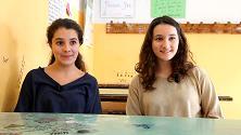 Flavia e Arianna: se punti il cielo vedi luce nello spazio