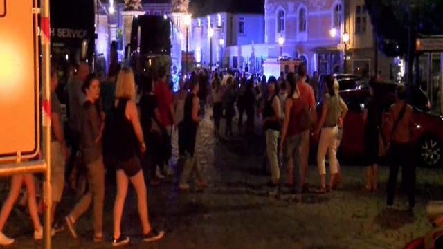 Germania: il luogo dell'esplosione al Festival di Ansbach