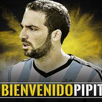 Juve-Higuain: ora è ufficiale