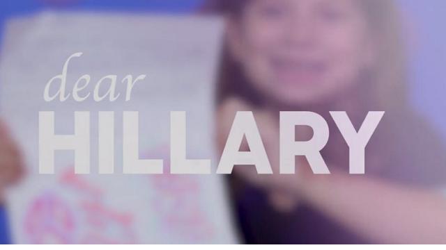 """Le bambine scrivono a Hillary Clinton: """"Lotta per la pace nel mondo"""""""