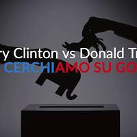 Hillary Clinton vs Donald Trump: cosa cerchiamo su Google